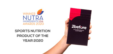 WINNER - 2before™ wins US Sports Nutrition Product of the Year 2020
