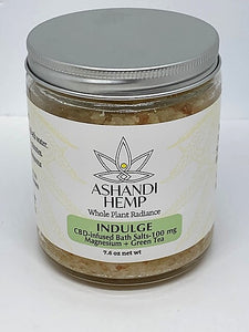 Ashandi Hemp Bath Salts
