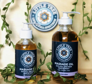 Massage oil - Little Tree Labs