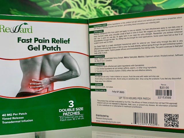 Reward Transdermal Patch