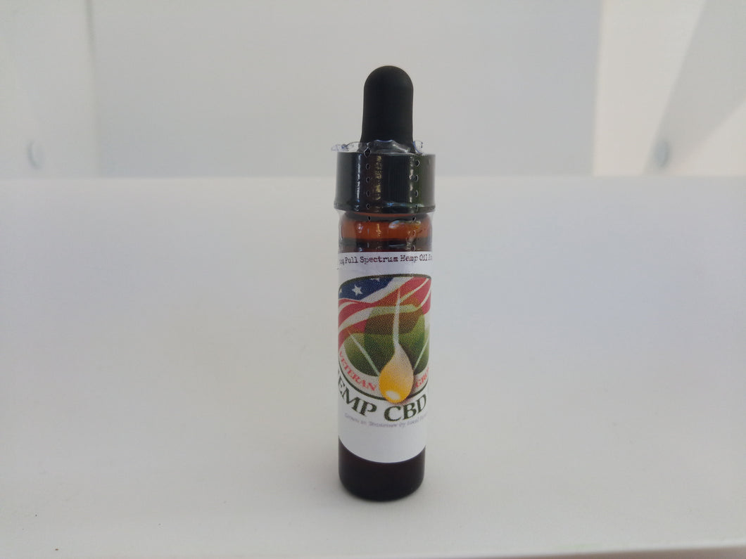 Veteran Grown - Tincture with Coconut Oil - Veteran Grown - Madden Enterprises