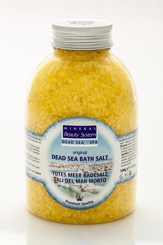 MINERAL BEAUTY SYSTEM  DEAD SEA SALT  LEMONGRASS 17008
