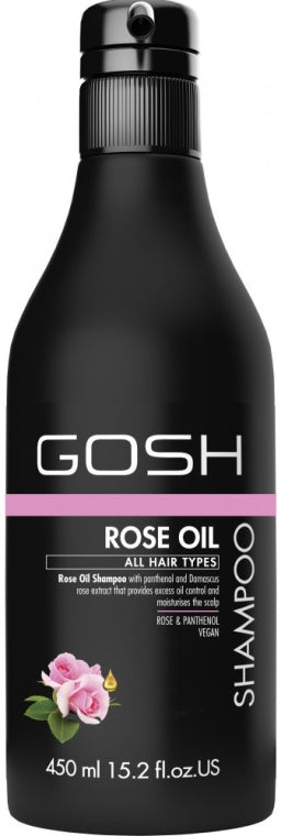 GOSH SHAMPOO ROSE OIL 450ML 157371