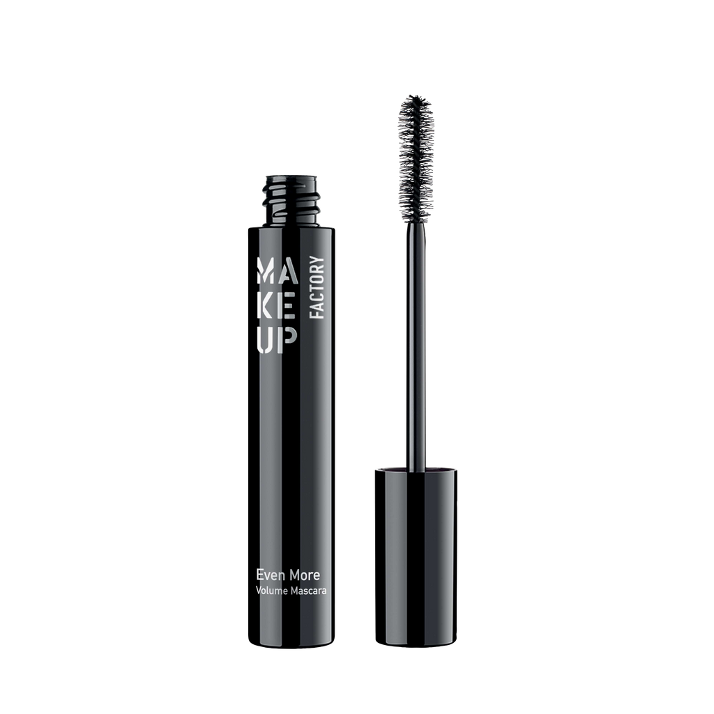 MAKE UP FACTORY EVEN MORE - VOLUME MASCARA BLACK 2422.XX