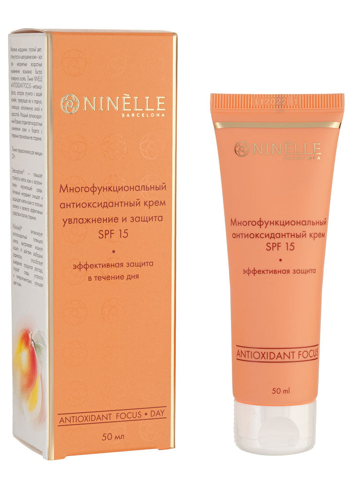 NINELLE ANTIOXIDANT FOCUS MULTIFUNCTIONAL ANTIOXIDANT FACE CREAM SPF 15 11346