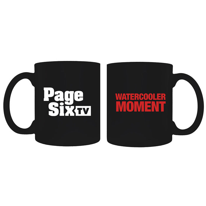 Page Six TV Watercooler Moment Black Mug