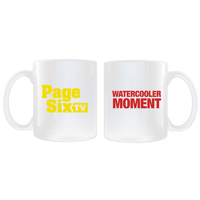 Page Six TV Watercooler Moment White Mug