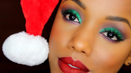This Christmas Season Shine On With These Make-Up Ideas