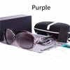 BRIANNA Polarized Retro Big Frames Sunglasses