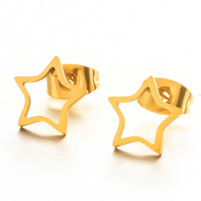 Carrie Simple Fashion Stud Earrings