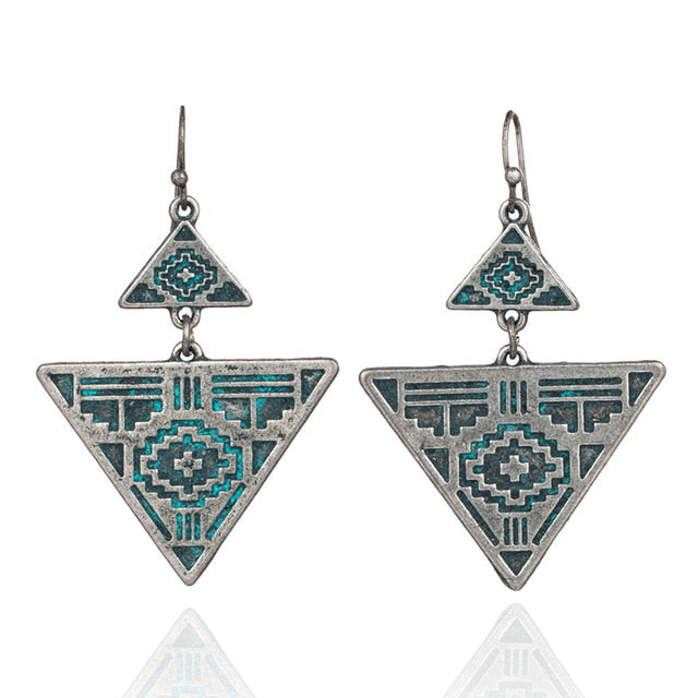 Mayan Fashion Earrings