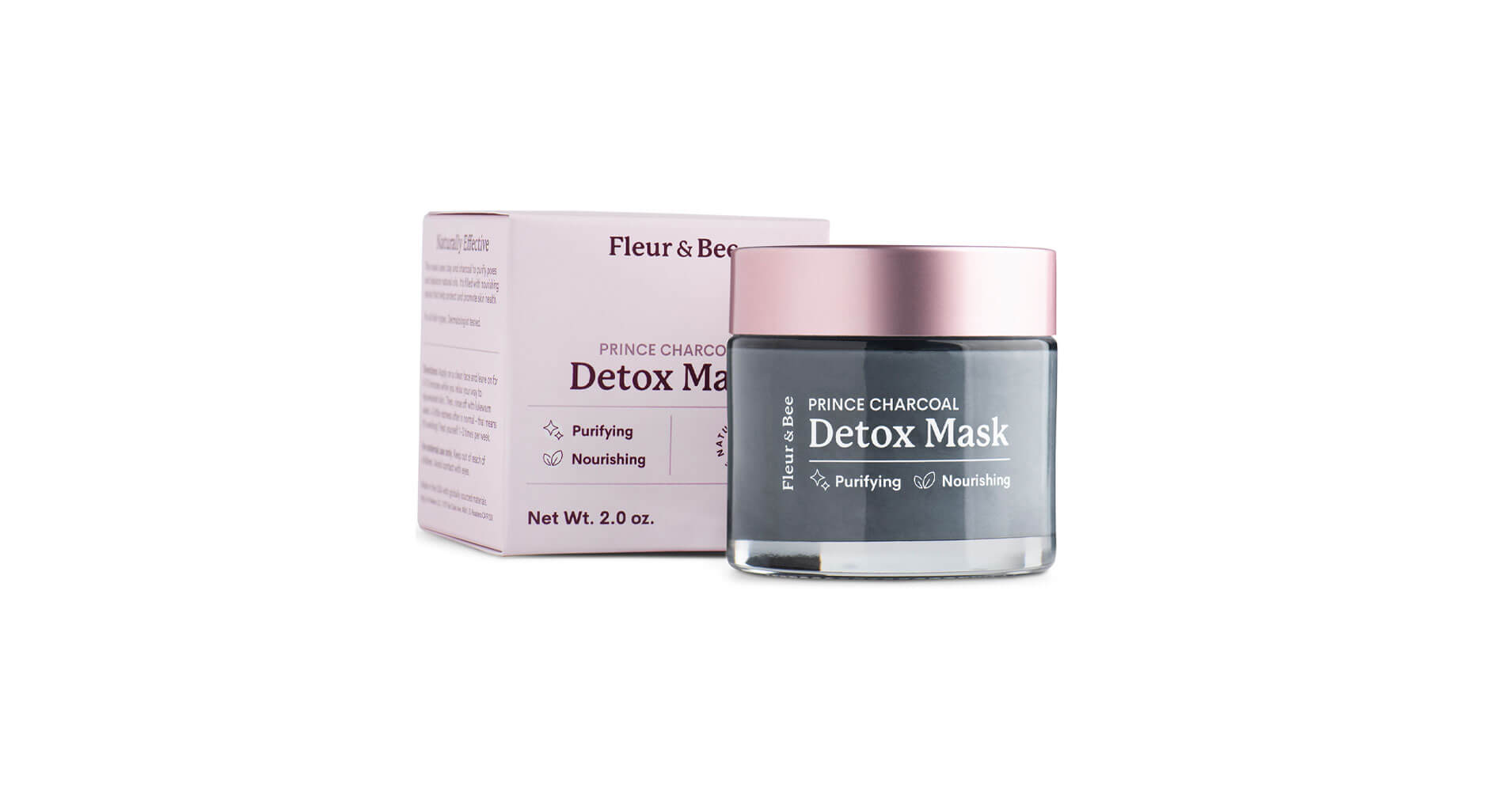 Fleur and Bee's Prince Charcoal Detox Mask