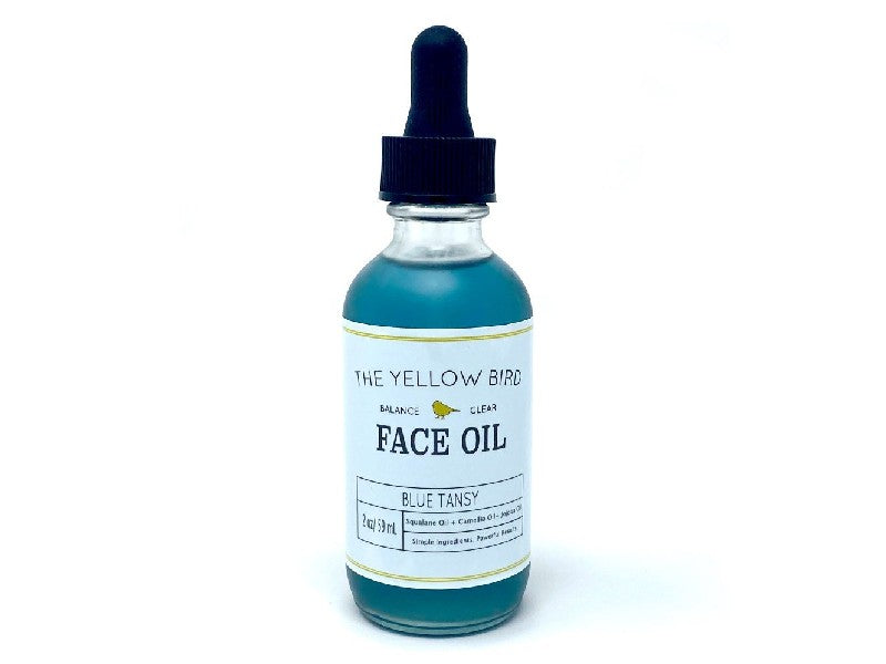 The Yellow Bird's Blue Tansy Face Oil