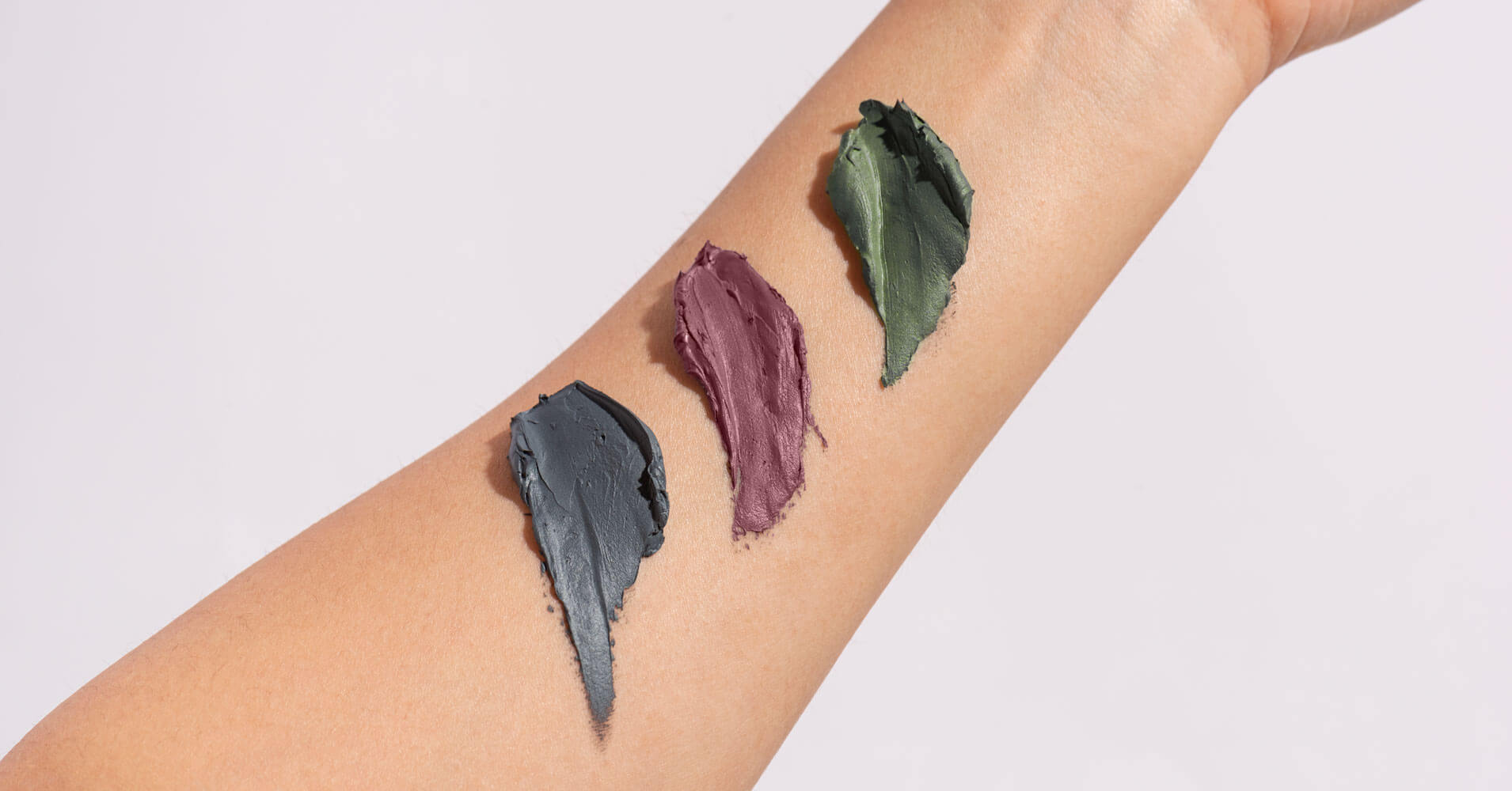 Charcoal mask textures
