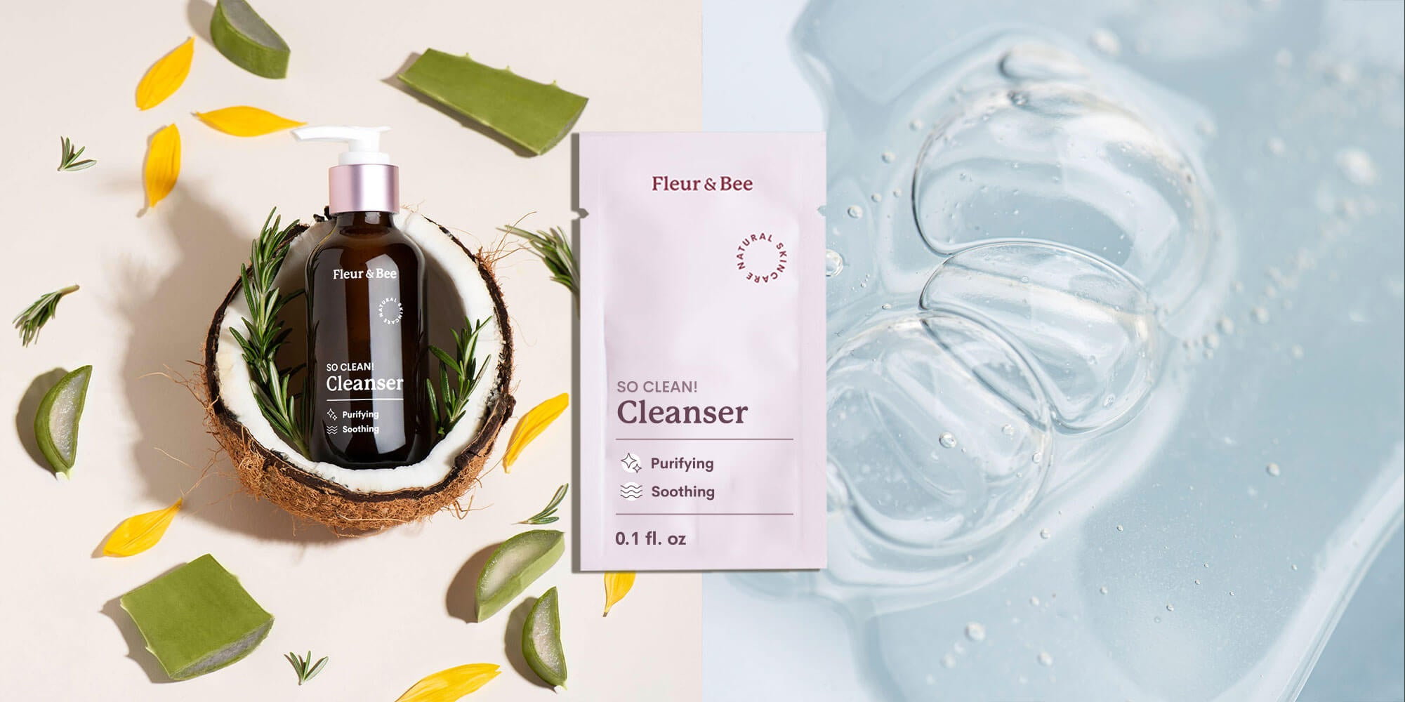 "So! Clean Sample"" /><br /><br /> <p>Washing your face is an essential part of any skin care routine. It helps to remove dirt, makeup and other impurities. It also helps set the stage for other skin care products so they can be properly absorbed.</p> <p>Our everyday facial cleanser, <a href="