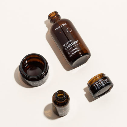Brown Glass Bottles and Jars