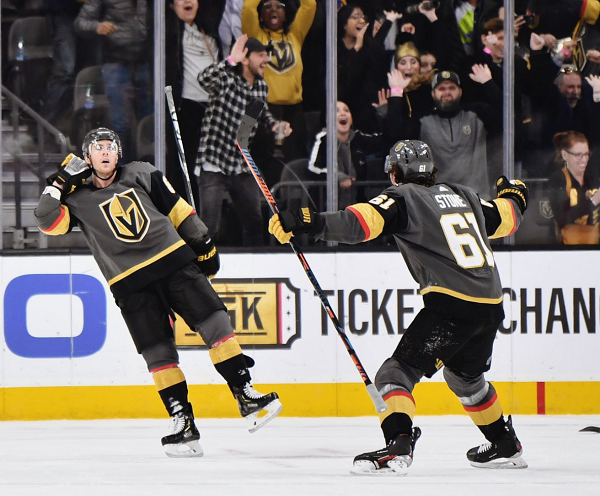 Vegas Golden Knights Overcome Third Period Deficit To Win In Overtime