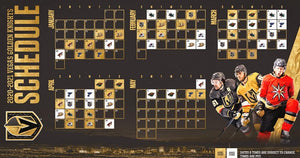 NHL Announces Vegas Golden Knights 2020-21 Schedule