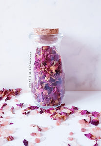 Organic Dried Red Rose Petals - 50g