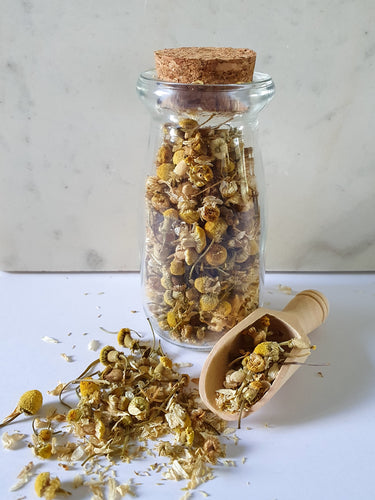 Organic Dried Chamomile Flowers (German Chamomile) - 30g