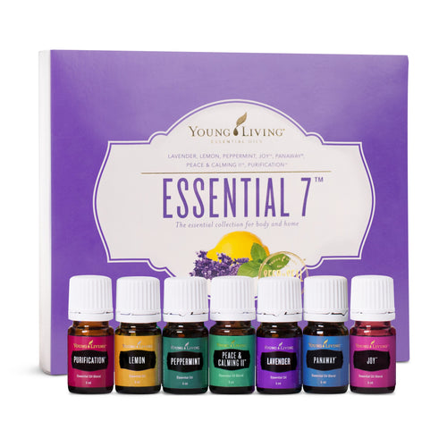 Essential 7 Oil Collection - 5ml