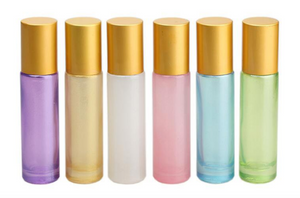 *Limited Edition* Pastel Glitter 10ml Roller Bottles - 6 Pack