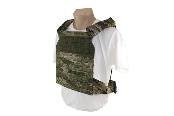Laser Cut MOLLE Plate Carrier ATACS IX - Wilde Custom Gear
