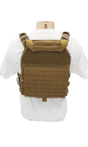 Wilde Custom Gear Plate Carrier Arbor Arms FRC RS Back