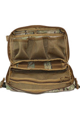 Wilde Custom Gear Goliath Large Admin Pouch Multicam Front Open