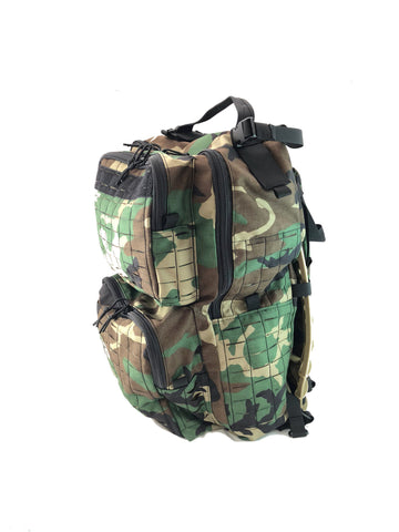 Wilde Custom Gear Custom Laser Cut MOLLE Backpack Downeast Pack Frame
