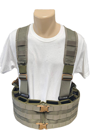 Wilde Custom Gear Esstac Boar Chest Rig Mesh Back Panel Front