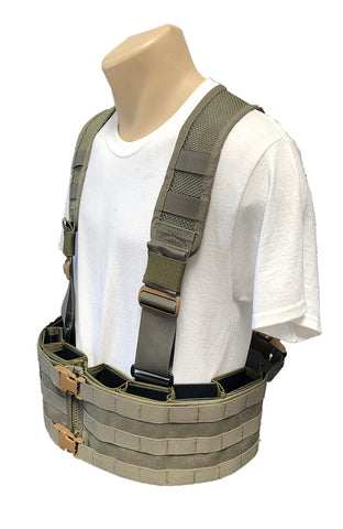 Wilde Custom Gear Esstac Boar Chest Rig Mesh Back Panel Side