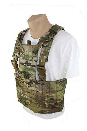 Laser Cut MOLLE Chest Rig Bib System Side Multicam.jpg