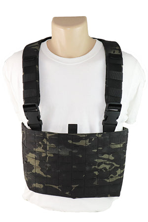 Laser Cut MOLLE Chest Rig Multicam Black Front.jpg