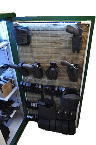 MOLLE Gun Safe Panel Door Organizer Black Loaded Web.jpg