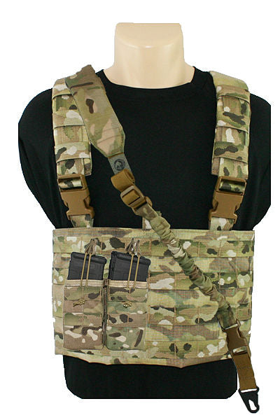 MOLLE Chest Rig Sling Mag Pouch Combo Multicam.jpg