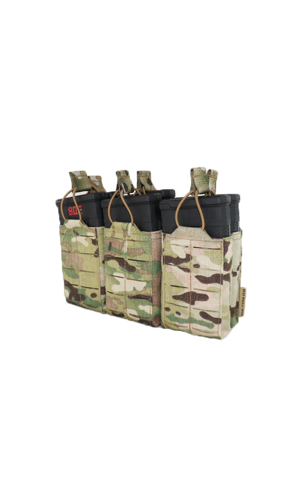 AR10 308 M1A Magazine Pouch Six Magazine Multicam Wilde Custom Gear