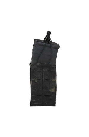 AR 15 AR15 30 Round Single Magazine Pouch Laser Cut MOLLE Multicam Black Front Wilde Custom Gear.jpg