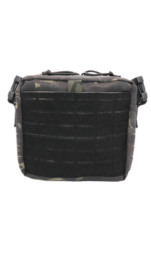 Wilde Custom Gear Active Shooter Bag Laser Cut Multicam Black Back Slit Pocket
