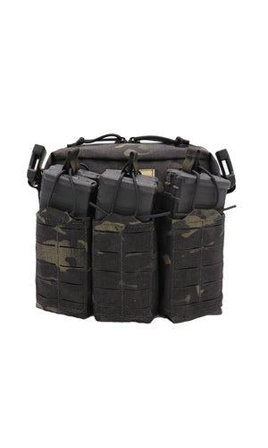 Wilde Custom Gear Active Shooter Bag Laser Cut Multicam Black No Strap