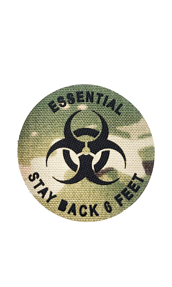 Essential Personnel Laser Cut Morale Patch