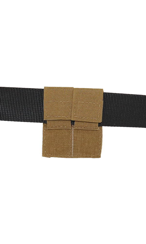 MOLLE Belt Adapter Wilde Custom Gear Back Coyote Brown