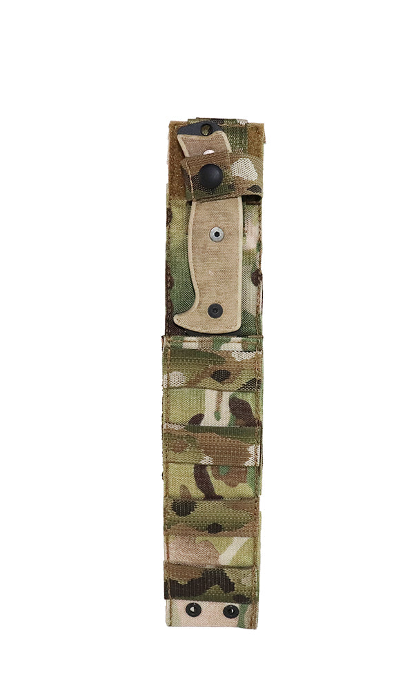 MOLLE Knife Sheath Multicam Front