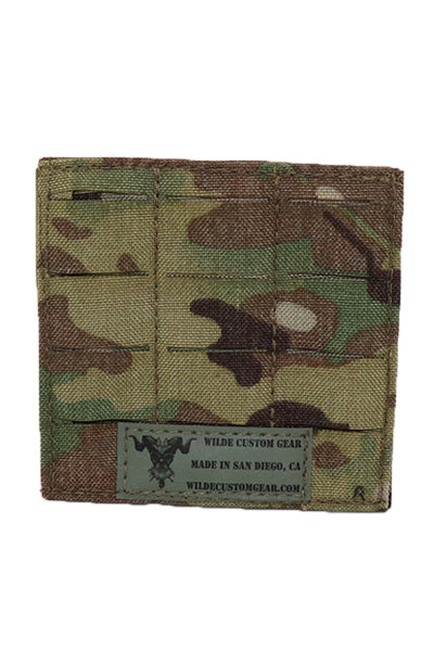MOLLE 45 Degree Adapter Multicam Rear - Wilde Custom Gear