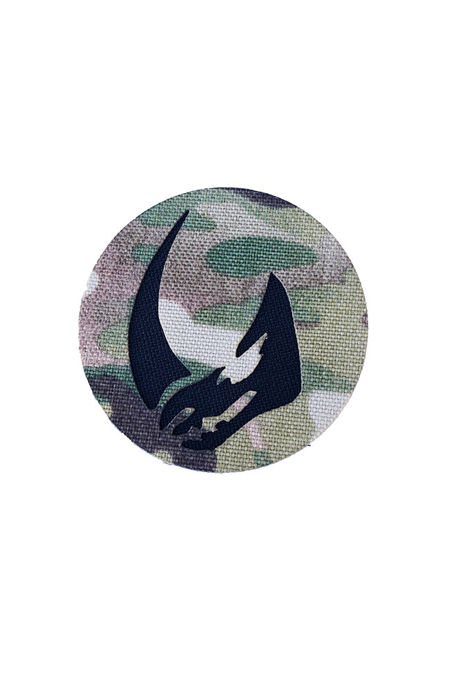 Mandalorian Mudhorn Signet Clan of Two Laser Cut Patch