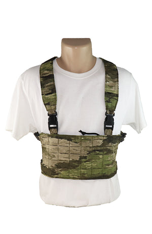 Wilde Custom Gear Modular Laser Cut MOLLE Chest Rig - ATACS IX Front
