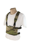 Wilde Custom Gear Modular Laser Cut MOLLE Chest Rig - ATACS IX Side