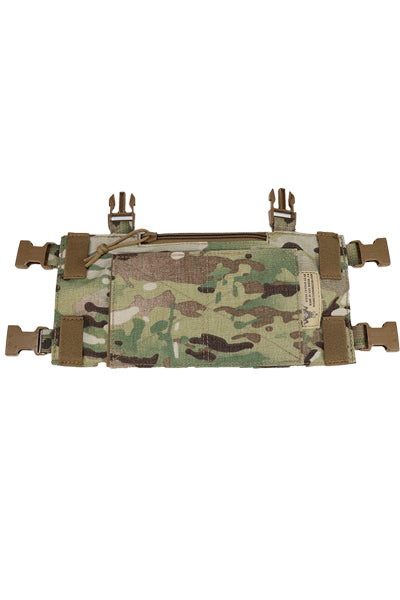 Wilde Custom Gear Modular Laser Cut MOLLE Chest Rig - Multicam Base Platform Back