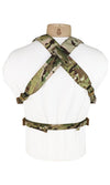 Modular Laser Cut Chest Rig Multicam Back Wilde Custom Gear