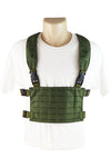 Wilde Custom Gear Modular MOLLE Placard Chest Rig Conversion Kit Front Police Law Enforcement